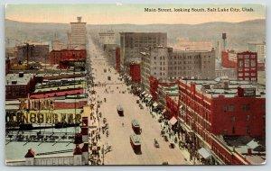 Salt Lake City~Dinwoodey Furniture~Security Trust~Roof Safety Deposit Boxes~1910