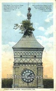 Court House Tower - Greensburg, Indiana IN