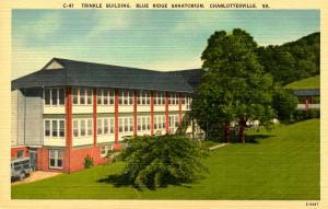 VA - Charlottesville. Blue Ridge Sanitorium. (Trinkle Building)