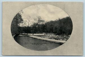 Postcard DE Wilmington South Race Brandywine Park 1909 View S2