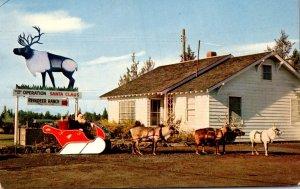 Oregon Redmond Reindeer Ranch Operation Santa Claus