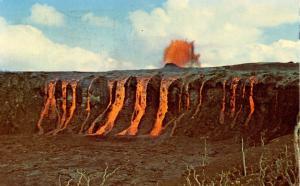 HI - Alae-Aloi Volcano Eruption