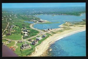 Weekapaug, Rhode Island/RI Postcard, Beautiful Aerial View!