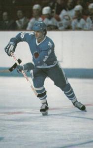 Quebec Nordiques Ice Hockey Player, Quebec , Canada , 70-80s ; #1
