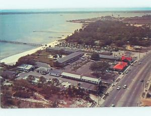 Unused Pre-1980 HOWARD JOHNSON MOTEL Panama City Florida FL c1528@