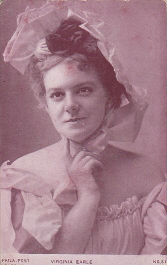 Famous Ladies Virginia Earle
