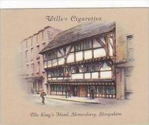 Wills Cigarette Card 2nd Series No 19 King's Head Shrewsbury Shropshire