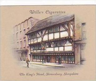 Wills Cigarette Card 2nd Series No 19 King's Head Shrewsbury Shropshire
