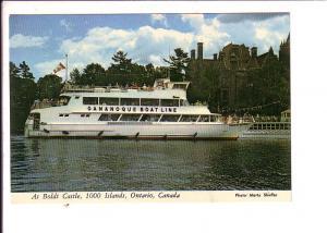 Gananoque Boat Line,  Thousand Islands, Ontario, Canada