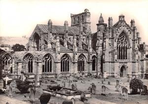 United Kingdom, Great Britain, England Melrose Abbey  Melrose Abbey