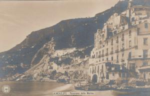 RP, AMALFI (Campania), Italy, 1900-10s; Panorama della Marina