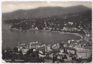 Rapallo, Panorama, Italy, Italia, used real photo, vera fotografia, Postcard