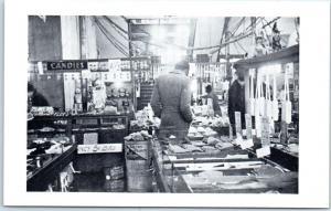 c1960s Memphis, TN Postcard A. SCHWAB Drug Store Beale St. Black Men 1939