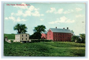 Fitchburg MA Early Postcard City Farm
