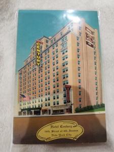 Antique Postcard, Hotel Century, New York City