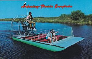 Airboating Florida Everglades, 40-60s