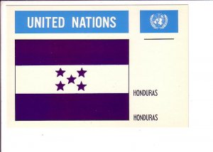 Honduras, Flag, United Nations