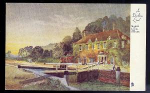 Marsh Lock Henley ENGLAND unused c1910