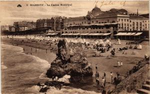 CPA BIARRITZ - Le Casino Municipal (450443)