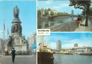 Ireland, Dublin, 1970 used Postcard