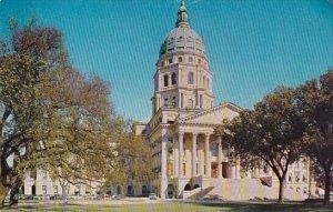 The Kansas State Capitol Topeka Kansas