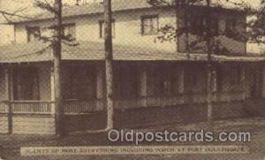 Fort Oglethorpe Georga, GA, USA Y.W.C.A Hostess House Misc. Fraternal, Postca...