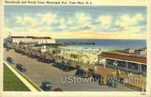 Boardwalk Cape May NJ Unused