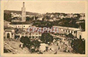 Old Postcard Tangier Grand Sokko Mendoubia and Marshan