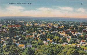 New Hampshire Dover Birds Eye View