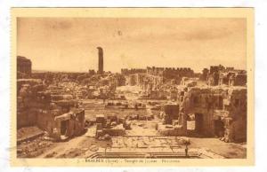 BAALBEK (Syrie), now Lebanon, 1910-30s ;  Temple de Jupiter ; Panorama