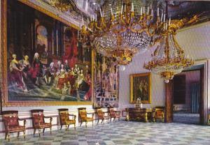 Spain La Granja De San Ildefonso Palace Throne Salon