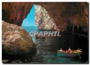Postcard The Blue Grotto Malta Modern