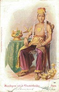 Indonesia Bruidegom uit de Vorstenlanden Java 03.08