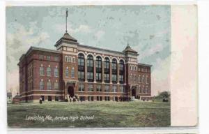 Jordan High School, Lewiston, Maine PU-00-10
