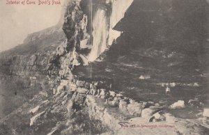 CAPE TOWN , South Africa , 1900-10s ; Interior of Cave , Devil's Peak