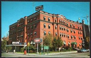 Ontario ~ BELLEVILLE Hotel Quinte on the Bay of Quinte 1950s-1970s