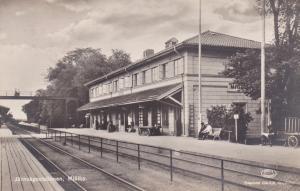 RP:Jarnvagsstationen (Railroad train station) Mjölby, Östergötland, Sweden, 10s