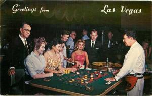 Las Vegas Nevada Hacienda Hotel Casino Interior Postcard Western Scott 3534