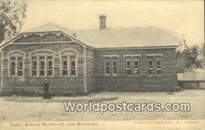 Public Schools, Kenilworth Kimberley South Africa Writing on back