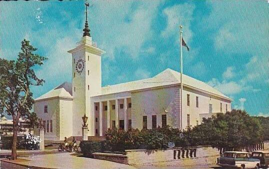 Bermuda Hamilton City Hall 1968