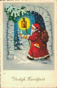 Christmas - Santa Claus With Lantern 04.34