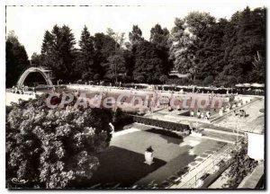 Modern Postcard Vittel Vosges Pool