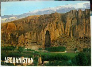 Afghanistan Statue of 35 High Buddha - 1975