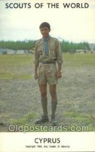 Cyprus Boy Scouts of America, Scouting Postcard, Post Cards, Copyright 1968  ...