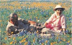 President & Mrs. Johnson Texas Hill Country, USA Unused