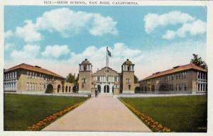 Exterior, High School,San Jose,California,00-10s