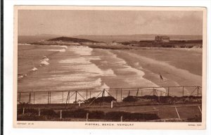 NEWQUAY, Cornwall/Scilly Isles, England, PU-1947; Fistral Beach