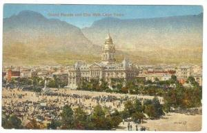 Cape Town, South Africa, 1900-10s   Grand Parade & City Hall