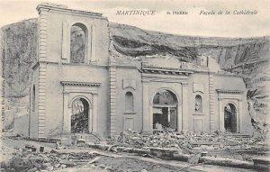Facade De La Cathedrale St. Pierre Martinique Unused