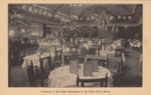 BOSTON , MA, 1920-30s; A Section of the Public Restaurant in the Filene Store